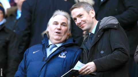 Iain Moody (right) and Gerry Francis
