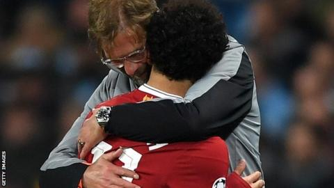 Liverpool forward Mohamed Salah says the Champions League is his top priority