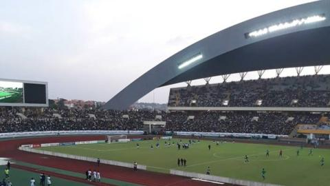 The Lansana Conte stadium in Guinea