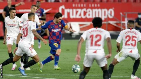 2019-20 Spanish Primera - Sevilla vs Barcelona Preview & Prediction