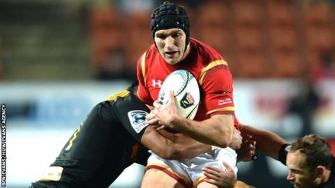 Cardiff Blues wing Tom James has won 12 caps for Wales