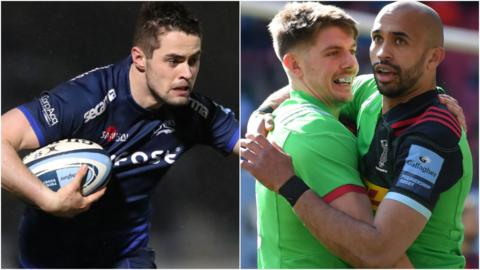 Sale and Harlequins meet in the Premiership Rugby Cup final
