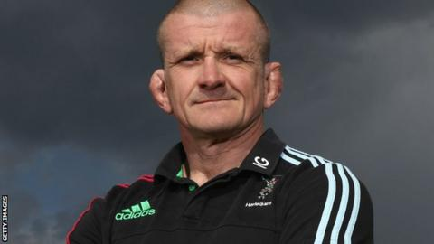 Harlequins forwards coach Graham Rowntree