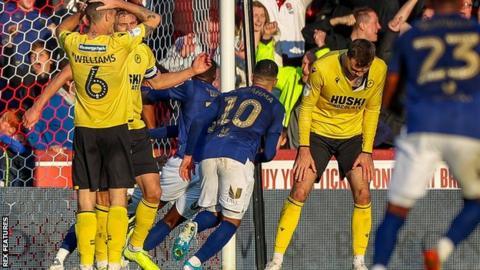 Brentford's late goal