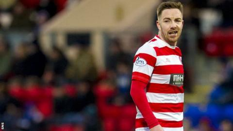 Jon Routledge had two spells at Hamilton Academical