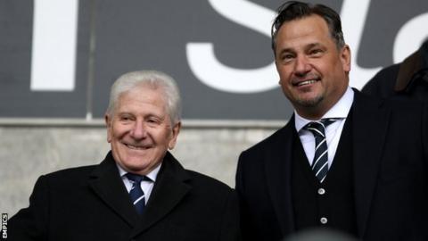Eddie Davies and Dean Holdsworth