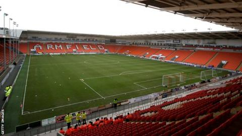 Blackpool avoided a points deduction from the English Football League after going into receivership in February