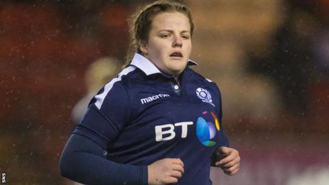 Scotland prop Katie Dougan