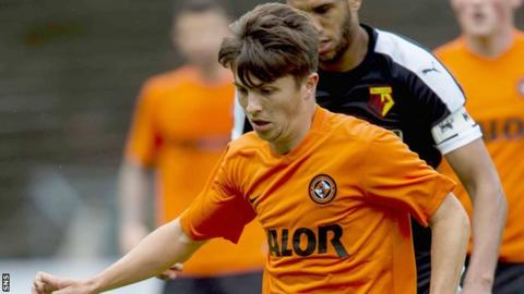Charlie Telfer made a £200,000 move to Dundee United from Rangers