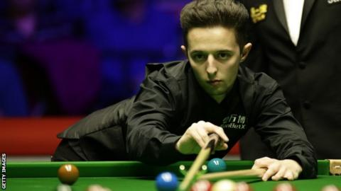 Snooker player Joe O'Connor