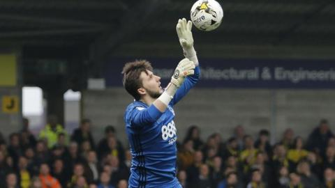 Jordan Smith has conceded nine goals in his seven Forest starts, including two clean sheets