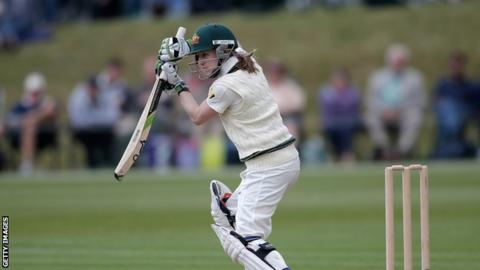 Rachael Haynes in action for Australia