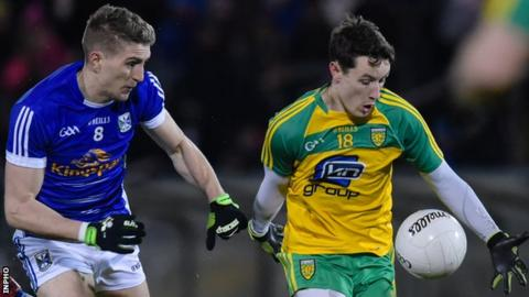 Donegal will play Cavan at Ballybofey on Sunday, 13 May in this year's preliminary round match