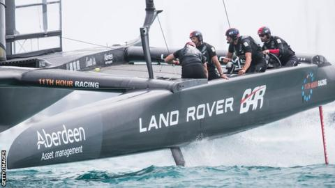 Sir Ben Ainslie's Great Britain team