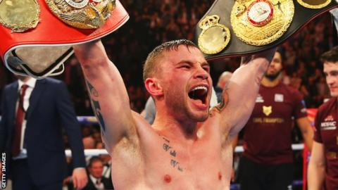 Frampton has relinquished his IBF title