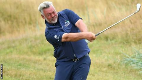 Senior Open: Darren Clarke finishes in a share of 10th place at Royal Lytham