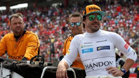 Fernando Alonso Will Retire From Formula 1 at the End of 2018