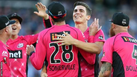 Only seven bowlers have taken more Big Bash wickets than Sean Abbott's career total of 39