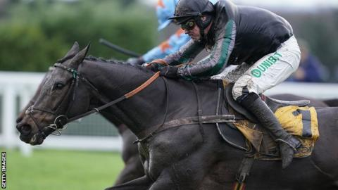 Altior wins the Tingle Creek Chase