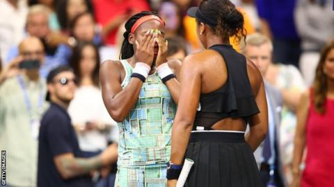 US Open 2019: Naomi Osaka warms hearts by consoling Coco