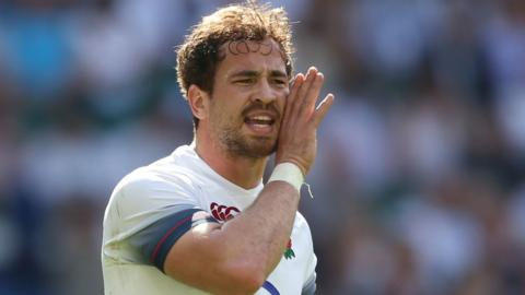 Danny Cipriani in action for England