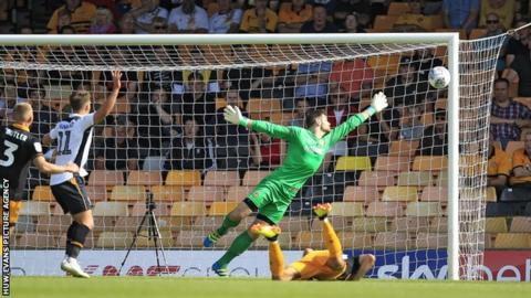 Newport County saw their woodwork rattled as Port Vale pushed for an equaliser