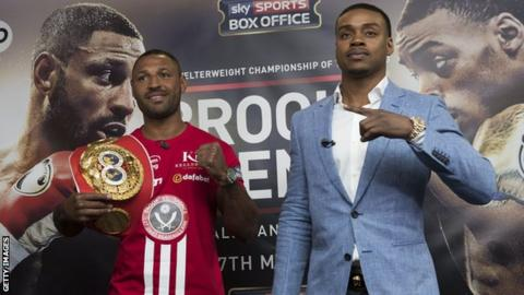 Kell Brook and Errol Spence