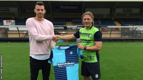 Max Muller and Gareth Ainsworth