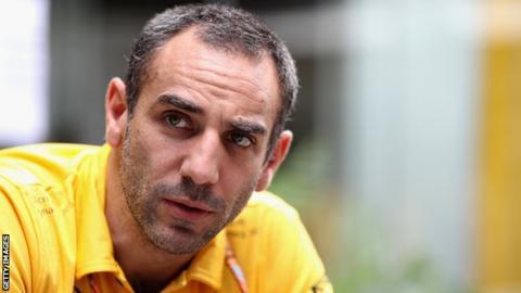 Cyril Abiteboul of Renault