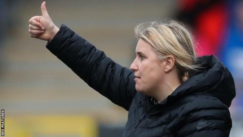 Chelsea Women manager Emma Hayes