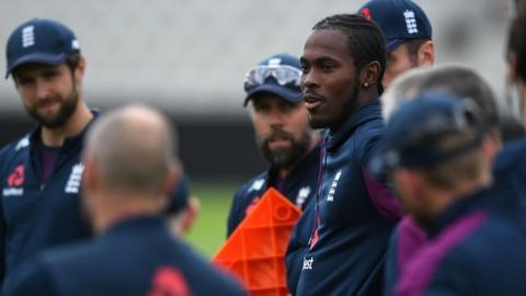 West Indies struggling against England in deciding test