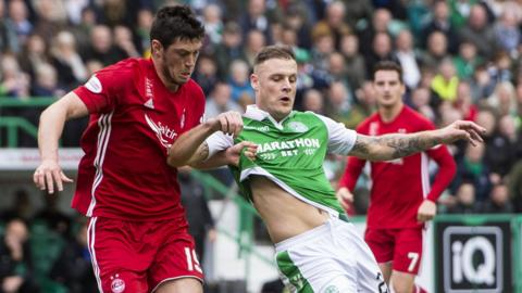 Scott McKenna and Anthony Stokes