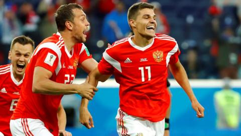 Russia 1-0 Egypt