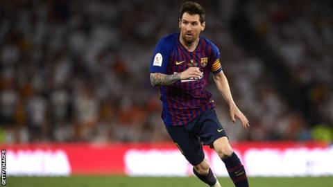 Lionel Messi highest paid athlete in the world