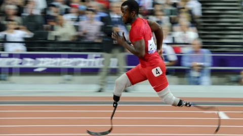 Blake Leeper Paralmypics 2012
