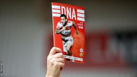 Doncaster Rovers programme