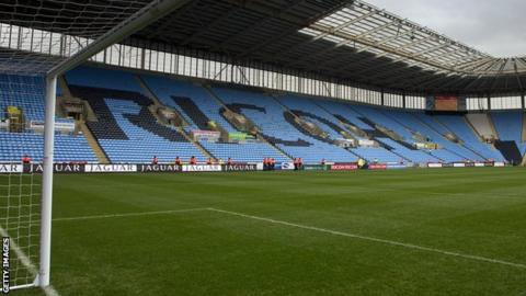 Ricoh Stadium, home of Coventry City and Wasps