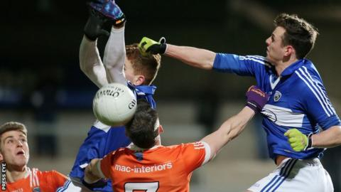 Laois beat Armagh 1-13 to 0-15 in the Division Two League game in early February