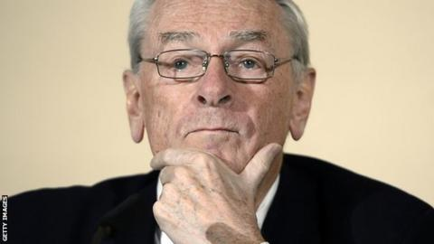 Former president of the World Anti-Doping Agency Dick Pound