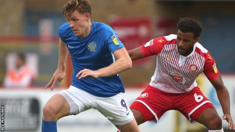 Stevenage v Macclesfield Town