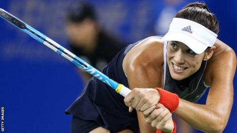 Muguruza will now face Jelena Ostapenko in the quarter-finals
