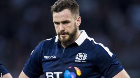 Scotland centre Alex Dunbar reflects on defeat by England
