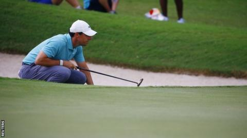 Rory McIlroy tied second at Tour Championship