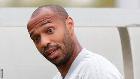 Monaco: Thierry Henry on manager shortlist to replace Leonardo Jardim