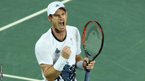Andy Murray won a second Olympic singles gold in a remarkable 2016
