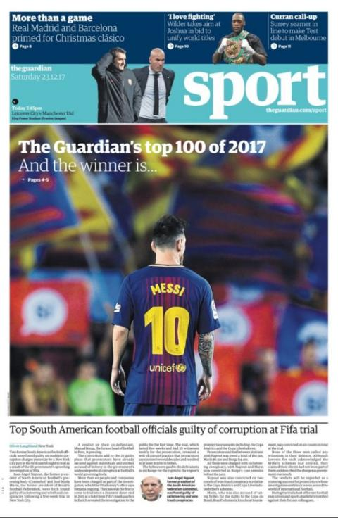 Saturday's Guardian