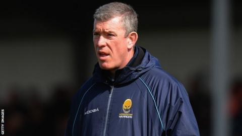 Worcester Warriors director of rugby Dean Ryan took over at Sixways in May 2013