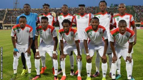 Burkina Faso's national team