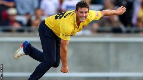 Aaron Thomason made his debut as a 17-year-old for the Bears against Middlesex at Lord's in 2014