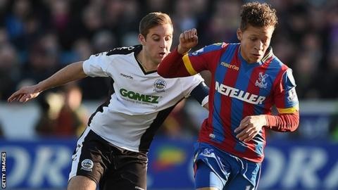 Connor Essam and Dwight Gayle